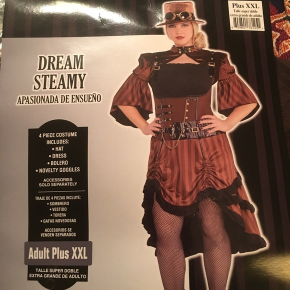 Plus Size Steampunk Costume